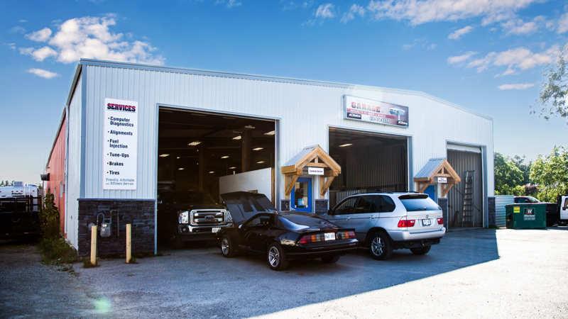Alva Cherrey's Garage